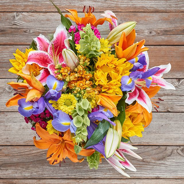 Colorful Mixed Flower Bouquet 1